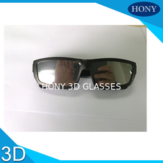 Customized ABS Frame Solar Eclipse Viewing Glasses / Eyewear 0.28mm Thickness