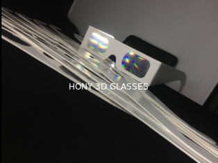 Hony Brand Paper Diffraction Grating Glasses With Color Print Frame