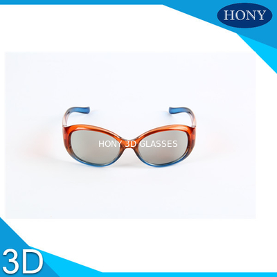 چین Children Circular Polarized 3d Player , 3d Polarized Glasses 0.7mm Thickness Pc Frame کارخانه