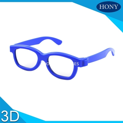 چین Cinema Reald 3D Polarized Glasses For Kids , ABS Frame 0.19-0.38mm lens کارخانه
